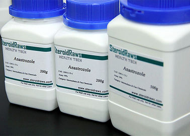 White Powder Anti Estrogen Steroids Arimidex Anastrozloe Cas 120511-73-1 USP/ BP/ ISO9001