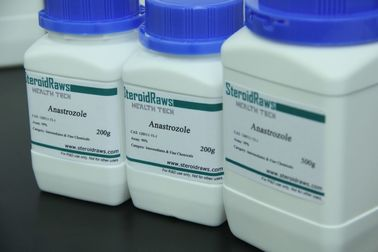 Raw Steroids Powder Anastrozloe, Arimidex For Anti-Estrogen USP/ BP/ ISO9001 Cas no. 120511-73-1